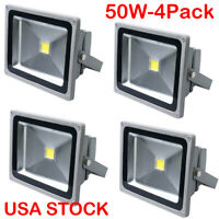 DC12-24V 50W LED Outdoor Flood Light Waterproof Square Lawn Security Spot Light