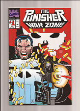 THE PUNISHER WAR ZONE #1 NM/MT 9.8 (DIE-CUT COVER) 1ST PUNISHING ISSUE! 1992