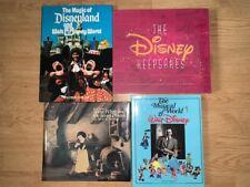 4 Disney Books : Keepsakes Tieman, Snow White Art, Musical World, Theme Parks