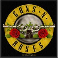 Guns N Roses Bullet Logo Woven Patch Official Metal Rock Band Merch New