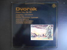 """""""Dvorak - Piano trio, op.65 - Heifetz - Piatigorsky - Pennario"""""""