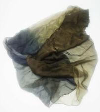 Vintage Emporio Armani Tri Coloured Sheer Silk Scalf   A02