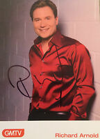 6x4 Hand Signed Photo of GMTVs Richard Arnold