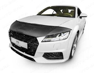 CAR HOOD BONNET BRA fit Audi TT Type FV/8S since 2014 NOSE FRONT END MASK TUNING