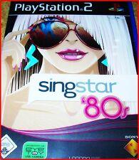 PS2 Singstar 80 S Party MIT 30 80er Cult KARAOKE HITS