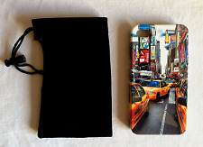 COQUE RIGIDE TAXY IN NEW-YORK  POUR IPHONE 4/4G/4S + 1 ETUI OFFERT!