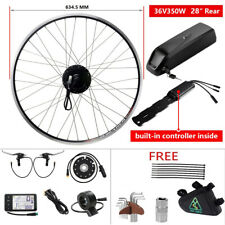 36V350W Kit Vélo Ebike Kit Conversion électrique Complet y Comprise Batterie 36V