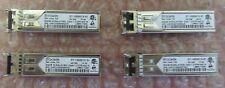 4 x Brocade 57-1000013-01 4G FC 850 nm ShortWave Transceiver SFP GBIC