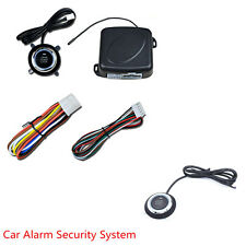Auto Car Alarm Security System Engine Starter Keyless Entry Push Button Kit Set