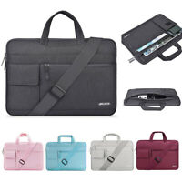 Laptop Shoulder Business Bag 13.3 15.6 17 inch for Macbook Dell Acer 13 15 Men