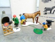 Dept 56 Snow Village ACCESSORIES Horse Farrier Fire Anvil For Bayleys Blacksmith