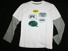 New Gymboree Boys Epic Speech Bubble Tee Top 5 Year NWT Woodland Party