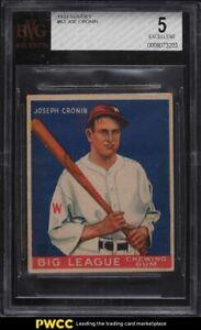 1933 Goudey Joe Cronin #63 BVG 5 EX