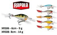 Rapala X-Rap® Shad Fishing Lure 6cm - 8cm  9g - 14g Various Colours