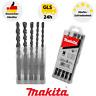 Makita D-36049 Bohrerset SDS- PLUS Steinbohrer Set 5-teilig Beton Mauerwerk