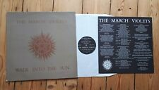 "The March Violets Walk Into The Sun 12"" + Insert Goth Post pUnk Sisters of Mercy"
