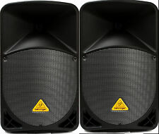 (2) PAIR Behringer Eurolive B112W 1000w Active  Bluetooth Speaker Auth Dealer