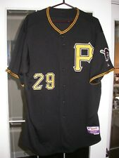 Pittsburgh Pirates Black Game Used 2010 Baseball Jersey - Dotel, MLB Hologram