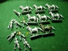 25mm minifigs wargaming figures Napoleonic French cavalry line hussars x 8