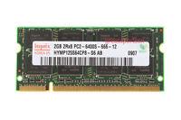 Hynix 2GB 2 GB PC2-6400 200pin 1.8V CL6 DDR2 800MHZ SODIMM Laptop Memory RAM