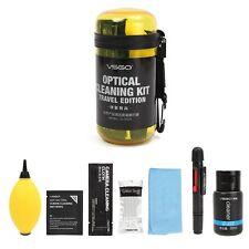 8 In 1 Optical Lens Digital Cleaning Swab Pen Blower Cloths Camera Cleaner Kit
