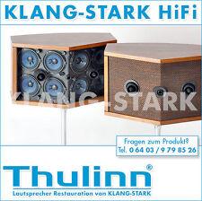 Thulinn® restaurierte Bose® 901 Lautsprecher original Nussbaum mit dbx Equalizer