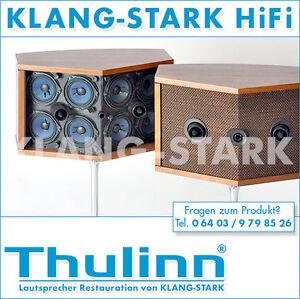 Thulinn® Bose® 901 System Lautsprecher original Nussbaum mit Equalizer