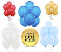 25X Latex Balloons Party Christening Newborn Baby Shower Decor Birthday Helium