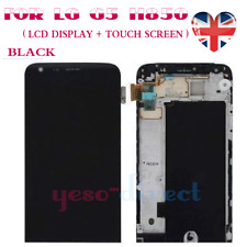 For LG G5 H850 H840 Replacement Screen LCD Touch Digitizer Display + Frame Black