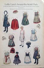 Lettie Lane Mag. Paper Doll Lhj by Sheila Young, Nov. 1910, German Girl