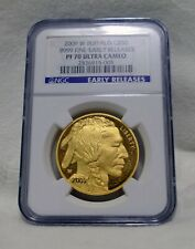 2009 W American .9999 Gold Buffalo Proof 1 oz  $50  NGC PF70 UCAM Early Releases