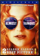 Almost Famous Dvd Kate Hudson Billy Crudup Frances McDormand Widescreen Edition