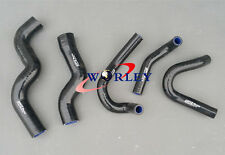 For Holden Rodeo TF 2.8L Turbo Diesel 1998-2003 99 Silicone Radiator Hose black