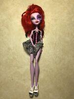 Monster High Operetta doll 2011 Mattel Red Hair Spider Dice Dress#