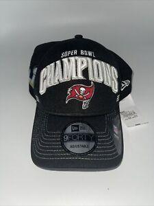 Tampa Bay Buccaneers NFL New Era Super Bowl LIV Snapback Adjustable Hat - Black
