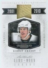 10-11 panini dominion all decade sidney crosby pittsburgh penguins jersey 46/99