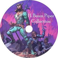 H. Beam Piper Classic Sci-Fi Audio Book Collection on 1 MP3 DVD FREE SHIPPING