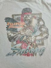 Vintage 97' Filipino Strength Shirt Size Adult Large Filipino Warrior Sabong