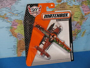 MATCHBOX MBX SKY BUSTERS CESSNA CARAVAN AIRPLANE ***BRAND NEW & VHTF***