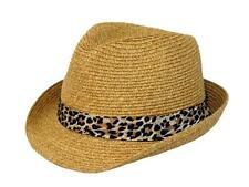 Toyo straw fedora hat