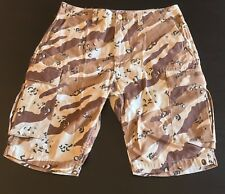 A bathing Ape Men's Tiger Camo 6Pocket Shorts - Desert Camo - Small