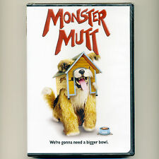 Monster Mutt 2010 children's kids family dog pet comedy adventure movie, new DVD