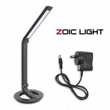 Zoic LED Desk Lamp Dimmable Flexible Table Bedside Home Study Reading Touch