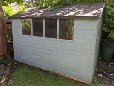 Apex roof garden shed 10 x 8