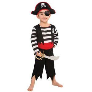 Rascal Pirate Buccaneer Costume Child Boys 2T Rubies Fantasy Play Imagination