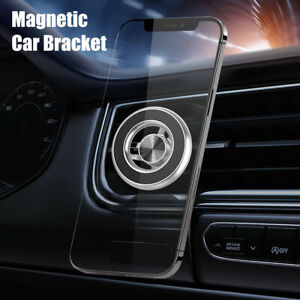 Car Phone Holder Air Vent Mount Stand Cradle Magnetic Coil for Apple iPhone 12
