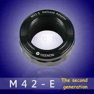 M42-NEX helicoid adapter (with pressure thimble device has set midline positio)
