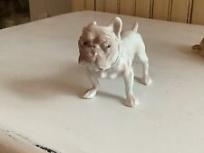 Bulldog Porcelain Figurine From Denmark