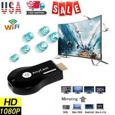 4K AnyCast M9 Plus WiFi Display Dongle HDMI Media Player Streamer TV Cast Stick