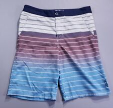 "Valor Hybrid Men's Size 18 (30"") Striped Casual Walking Board Shorts"